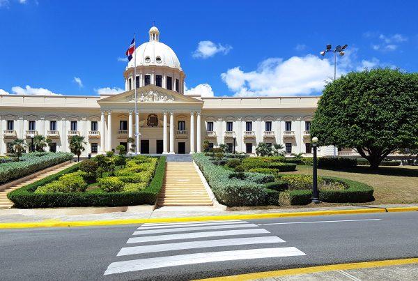 Der Präsidenten-Palast von Santa Domingo