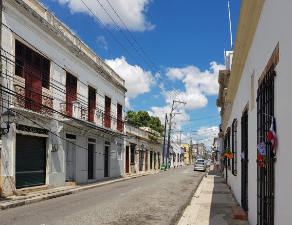 In der Altstadt von Santa Domingo