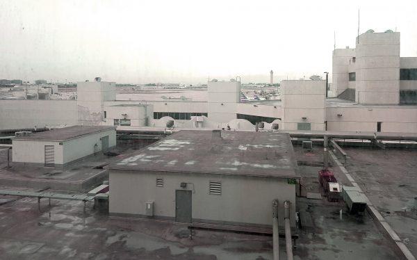 Ausblick vom Miami Airport Hotel