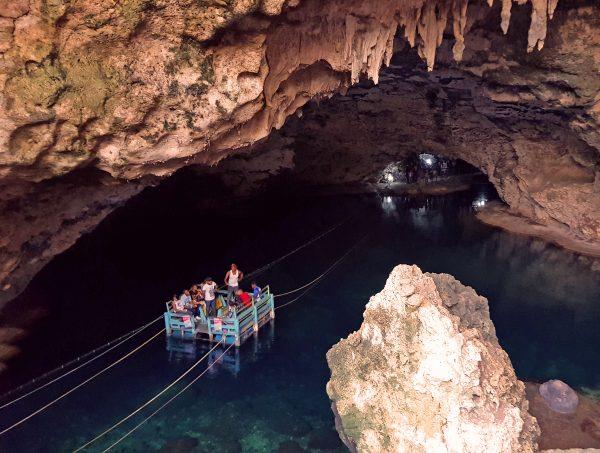Die Höhlen 'Los Tres Ojos' nahe Santa Domingo
