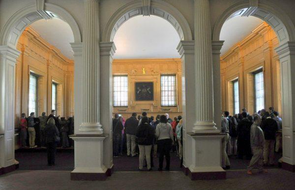 Die Independence Hall in Philadelphia