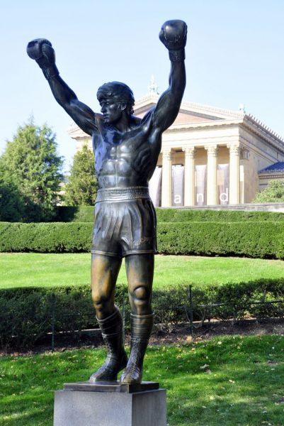 Rocky in Philadelphia