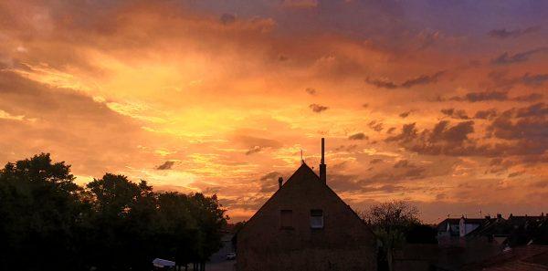 Hochheim am Morgen
