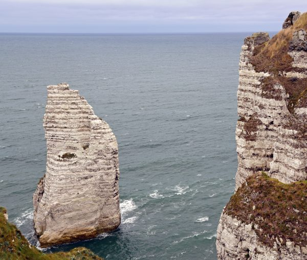 Die Alabasterküste von Étretat (Felsennadel Aiguille)