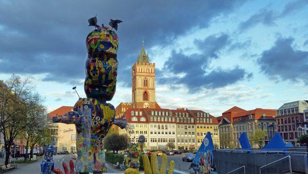 Die Innenstadt von Frankfurt an der Oder