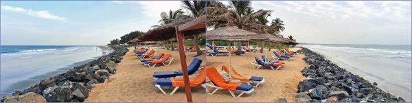 Sonne und Meer in Gambia
