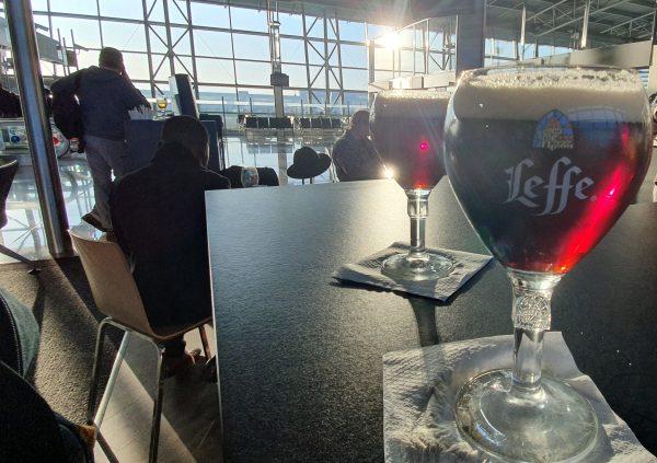 Abschied vom Flughafen Brüssel