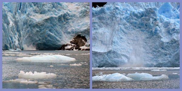 Der Garibaldi Gletscher kalbt