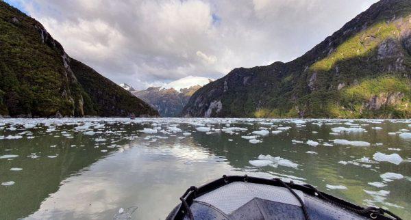 Eiszeit im Garibaldi Gletscher