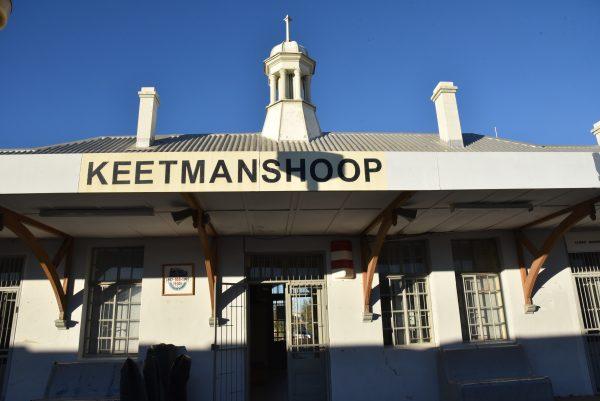 Der Bahnhof von Keetmanshoop