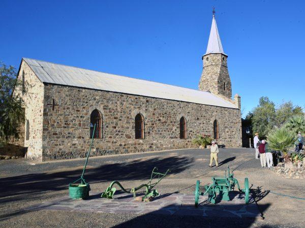 Die rheinische Missionskirche von Keetmanshoop