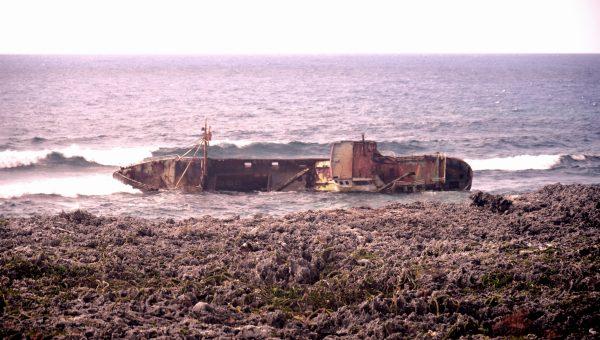 Ein Geisterschiff auf der Halbinsel Guanahacabibes