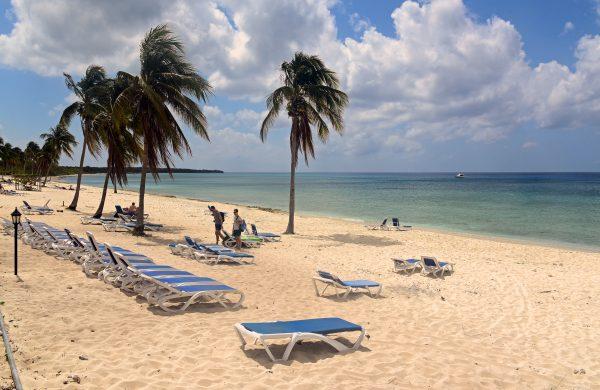 Am Strand von Maria da Gorda auf der Halbinsel Guanahacabibes