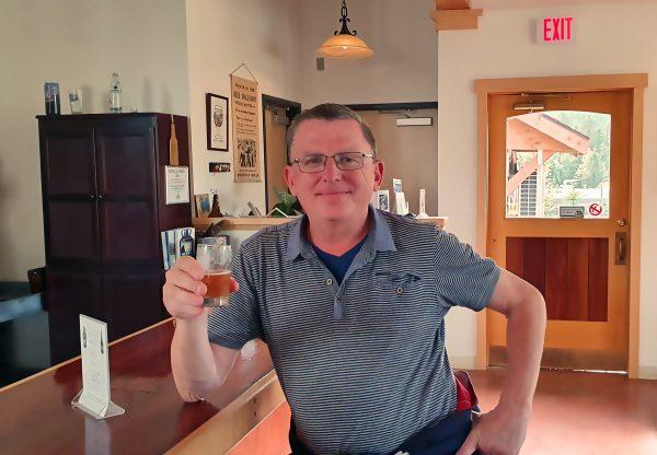 Zinni in der Brauerei von Haines