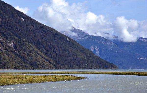 Der Chilkoot River, in der Nähe von Haines