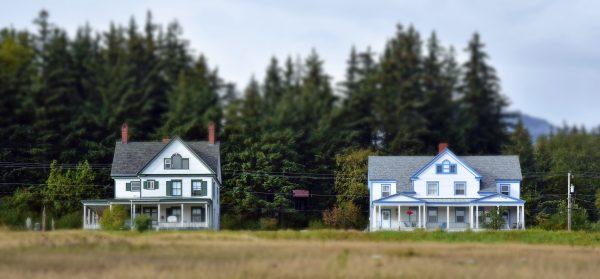 Häuser in Haines