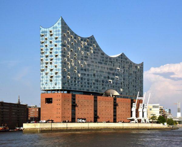 Die Elbphilharmonie in Hamburg