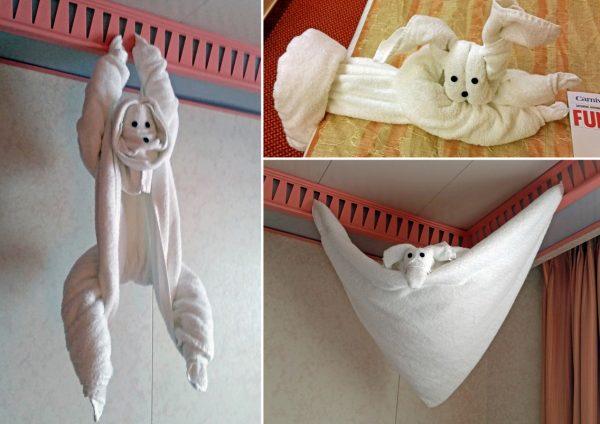 Handtuch Spielereien