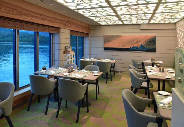 Das Restaurant 'Hanseatic' auf der HANSEATIC nature