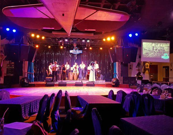 Showtime im Habana Café / Havanna
