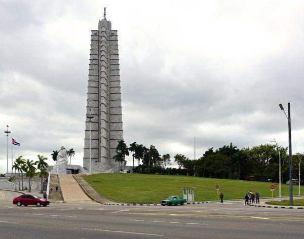 Der Turm des José-Martí-Denkmal in Havanna
