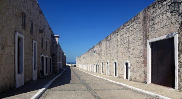 Die Festung 'Castillo de los Tres Reyes del Morro' in Havanna