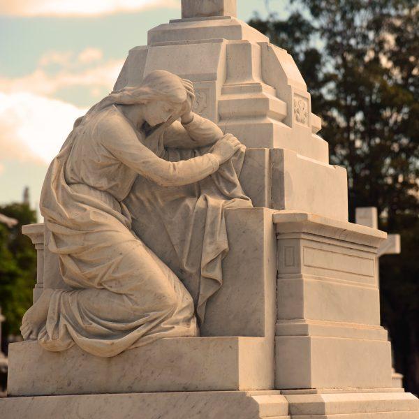 Der Friedhof 'Cementerio Cristóbal Colón' in Havanna