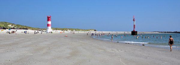 Der Strand auf der Düne von Helgoland