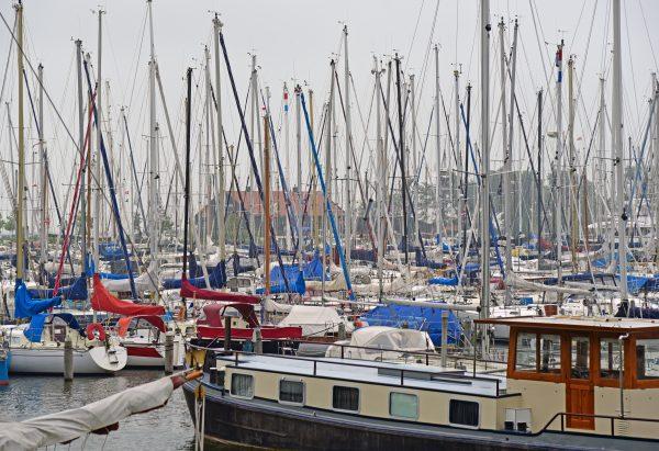 Boote in Hoorn