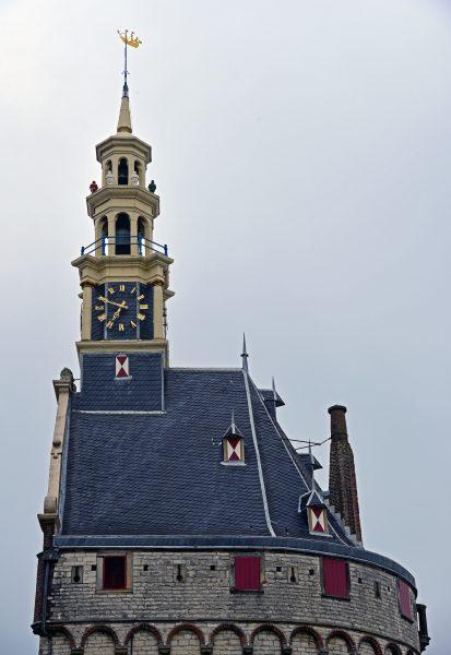 Der Hauptturm von Hoorn