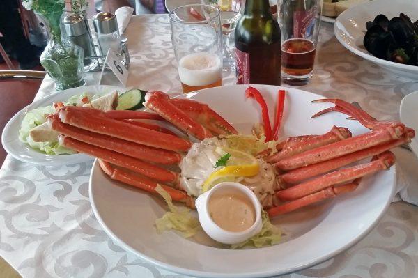 Arktische Krabbe, Inuit Cafe, Ilulissat