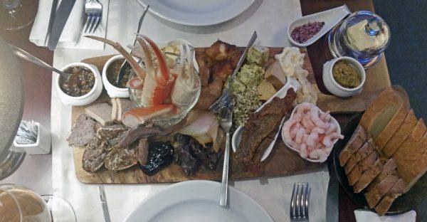 Grönländische Tapas im Restaurant Mamartut