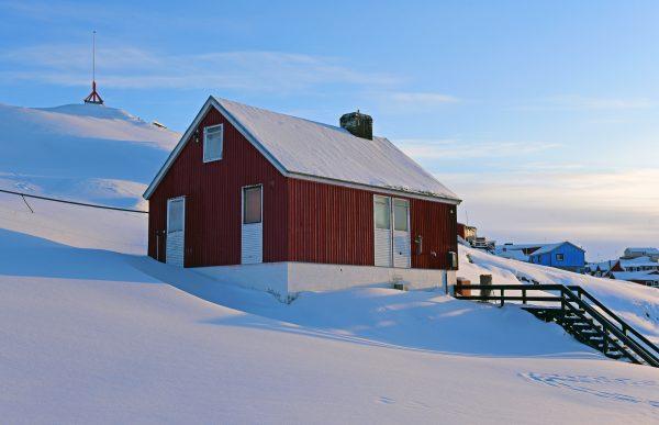 Ein Haus in Ilulissat