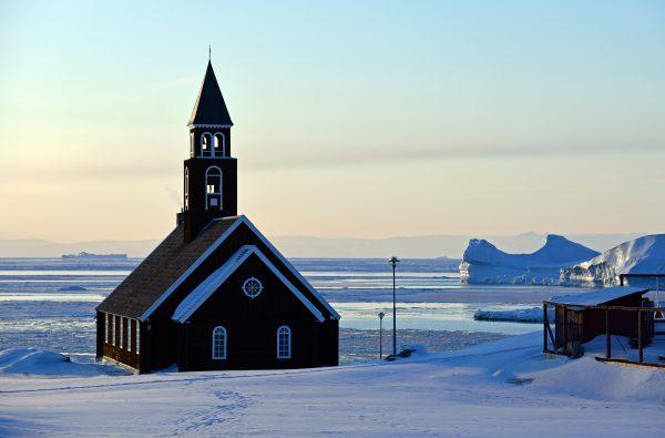Die Kirche von Ilulissat