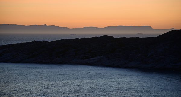 Gute Nacht Ilulissat