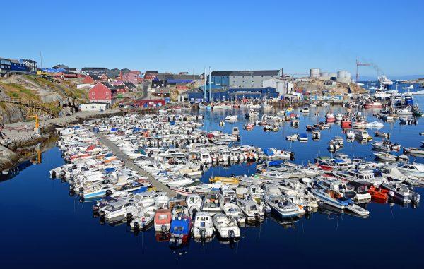 Der Hafen von Ilulissat