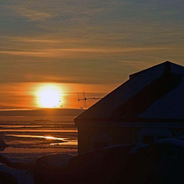 Sonnenuntergang in Ilulissat