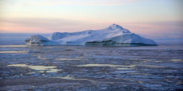 Ein Eisberg vor Ilulissat