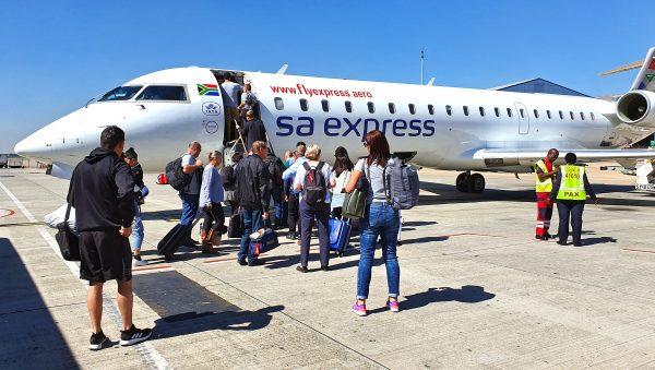 SA Express / Flughafen Johannesburg