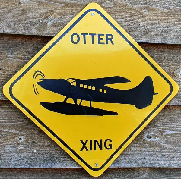 Otter Warnung in Juneau