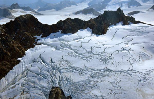 Der Taku Gletscher in der Nähe von Juneau