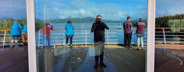 Unterwegs der 'Inside Passage' Richtung Alaska
