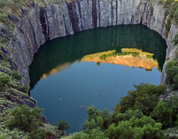 'The Big Hole' von Kimberley
