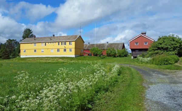 Das Besucherzentrum vom Øvre-Pasvik-Nationalpark