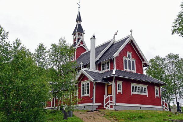 Neiden Kirche / Norwegen