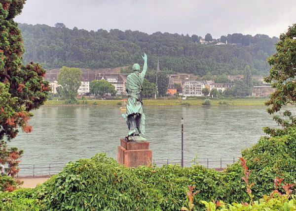 Die Joseph-Görres-Denkmal in Koblenz