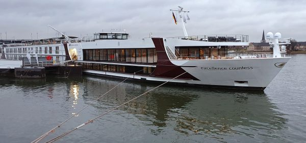 Die MS Excellence Countess in Mainz