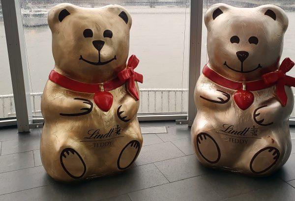 Lindt Bärchen im Schokoladen-Museum von Köln