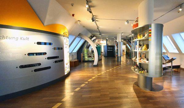 Im Schokoladen-Museum von Köln