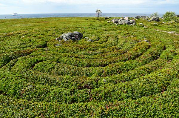 Labyrinth, Zayatski Island, Russland